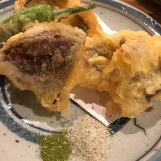 鱧の天ぷら(おでんムロ)