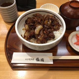 牛丼(並)(豚捨 (ブタステ))