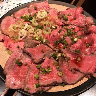 ローストビーフ3種盛り合わせ(成田肉横丁)