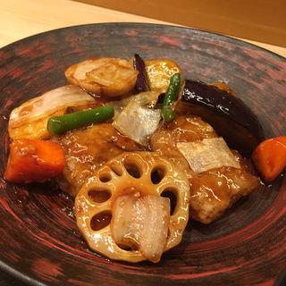 すけそう鱈と野菜の黒酢あん定食(大戸屋 ポーラ名古屋ビル店 )