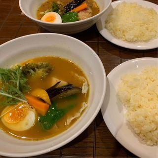 ベジタブルのスープカレー