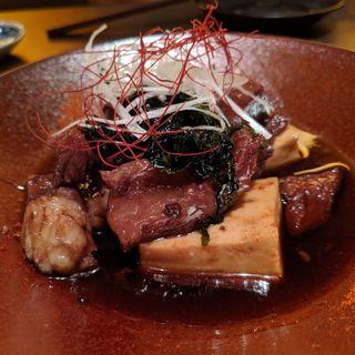 すき焼き屋さんの甘辛肉豆腐