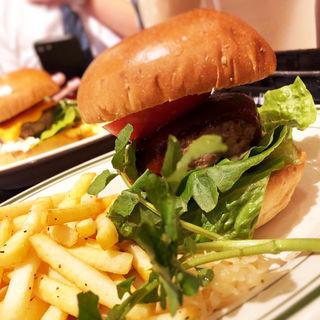 ランチバーガー(Queens Steak & Burger)