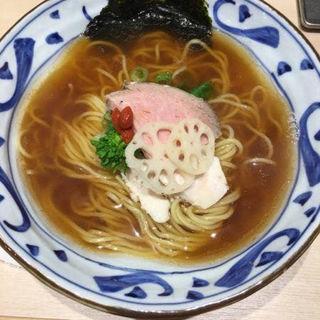 煮干ラーメン(銀座 篝 Echika fit 銀座店 (ギンザ カガリ))