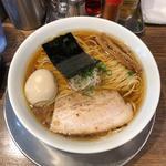 味玉醤油の旨味ソバ(Tombo)