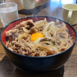 バラ丼 肉大盛り(牛焼きジョニー 池袋店)