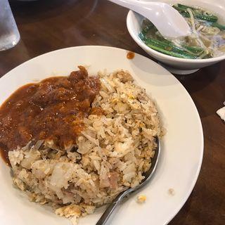 激辛 牛スジカレーチャーハン(台北飯店 (タイペイハンテン))