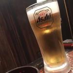 生ビール(ヤマダモンゴル 狸小路店)