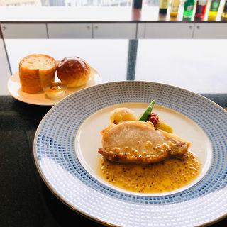 糸島豚のハニーマスタードソース(ブロッソ )