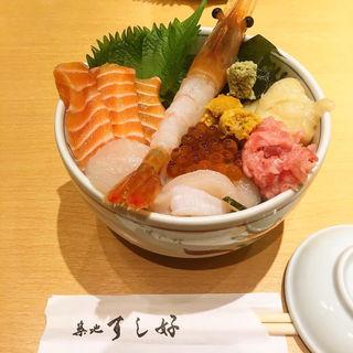 極上えび海鮮丼(築地すし好)