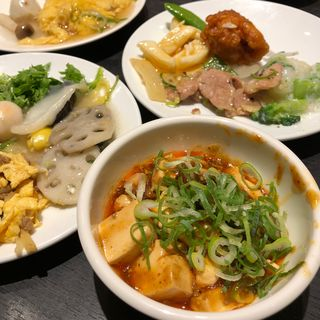四川風麻婆豆腐(香港蒸龍 ヨドバシ梅田店 (ホンコンチョンロン))