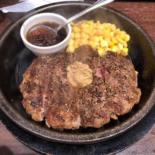 ワイルドハンバーグ(いきなり!ステーキ 横浜西口店)