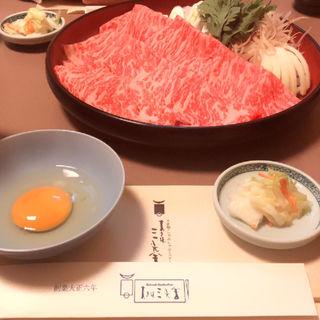 特選牛ロースすき焼(すき焼 三光舎 旭川店)