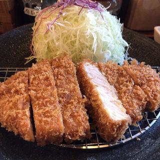 極上トロロースかつ定食(とんかつ マ メゾン 東桜店 (MA MAISON))