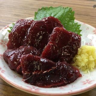 クジラ刺(はなみち (【旧店名】第三酒寮キンパイ))