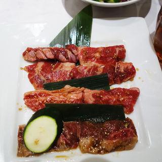 3種のカルビランチ(焼肉なべしま 姪浜店)