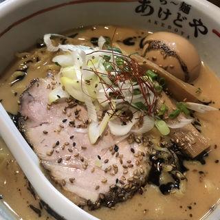 胡麻味噌麺(らー麺 あけどや )