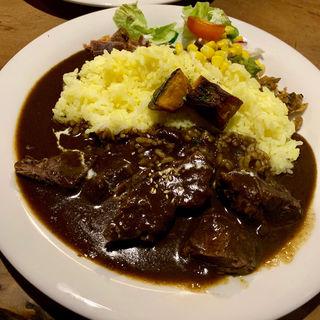 エゾ鹿肉カレー(唯我独尊)