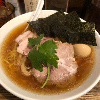 特製平子煮干そば(新橋 纏 (まとい))