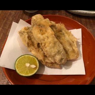 牡蠣の天ぷら(東白庵 かりべ )
