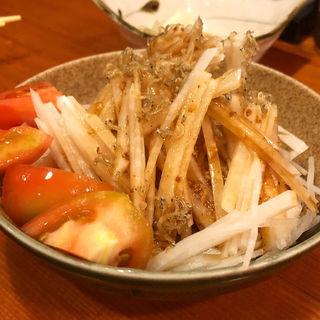 大根サラダ(串焼き いの田)