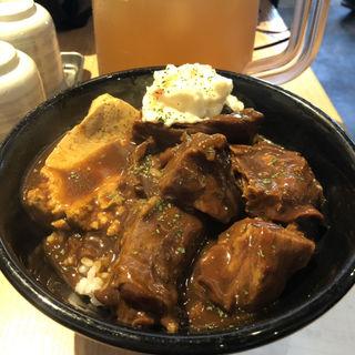 牛タン煮込み丼(秋葉原 岡むら屋 )