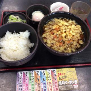朝定食Cセット(ゆで太郎 新木場店 )