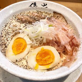白味噌カルボナーらーめん(レジェーロ )