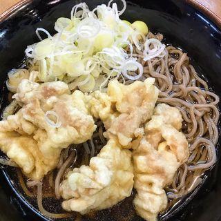 豚天そば(かきつばた 名古屋駅1・2番線店 )