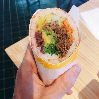 バーベキュー(Beeat sushi burrito)