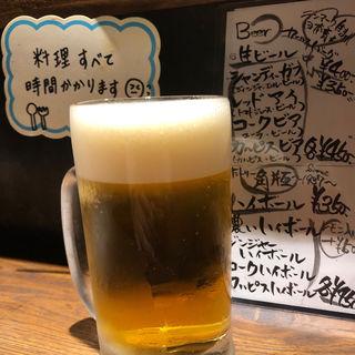 生ビール 中(キッチンナカジマ )