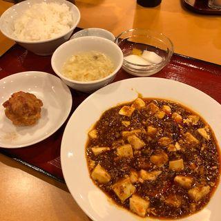 マーボー豆腐定食(中華 女児紅 (チュウカ ジョジコウ))