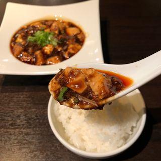 麻婆豆腐ランチ(中華ダイニングザイロン)