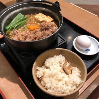 牛すき鍋(ザめしや 伊丹南店 )