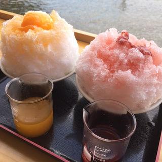 かき氷(甘味処 菊水苑)