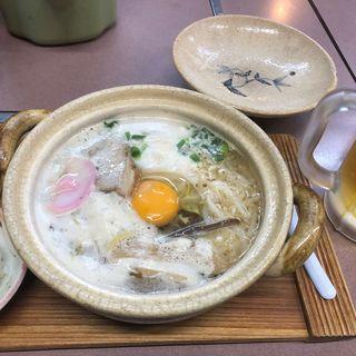 鍋焼きラーメン(ぼっちり )