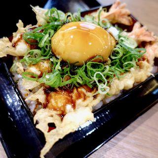 海老玉天丼(天ぷらの山 梅田阪神店)