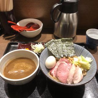 特製つけ麺(長男、もんたいちお)