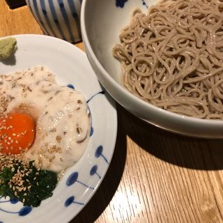 濃厚卵と自然薯(松玄)