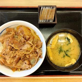 プレミアム牛めし(並)(松屋 中目黒店 )