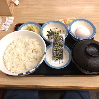 選べる小鉢の玉子かけごはん(松屋 祖師谷大蔵3丁目店)