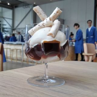 コーヒーパフェ(ブルーボトルコーヒー 清澄白河 ロースタリー&カフェ (Blue Bottle Coffee))