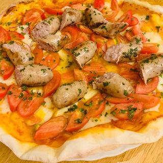 サルシッチャとプレミアムトマトのピッツァ(トラットリア ラ マルゲリータ )