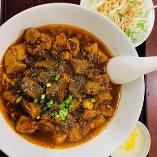 麻婆豆腐麺(晴晴飯店)