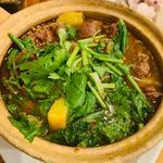 馬肉の土鍋煮