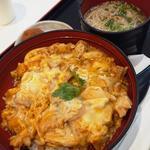 名古屋コーチン親子丼 鶏そばセット