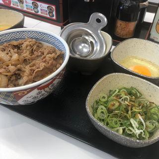 ねぎ玉牛丼(吉野家 野里店 )
