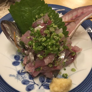あじ刺身(小料理とき )