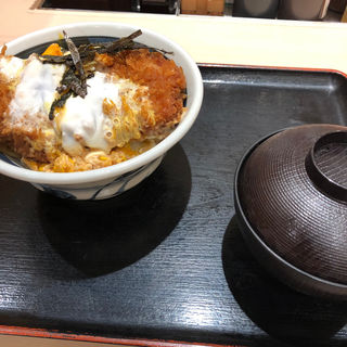 厚切りカツ丼(松のや 姫島店)