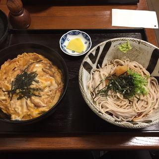 木の葉丼とミニおろし蕎麦(そば処花りん)